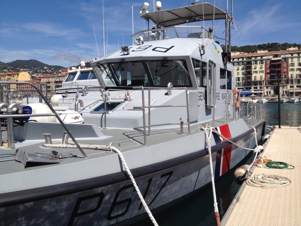 Vidéosurveillance sur bateau